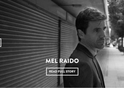 Actor Mel Raido – Nuit Magazine