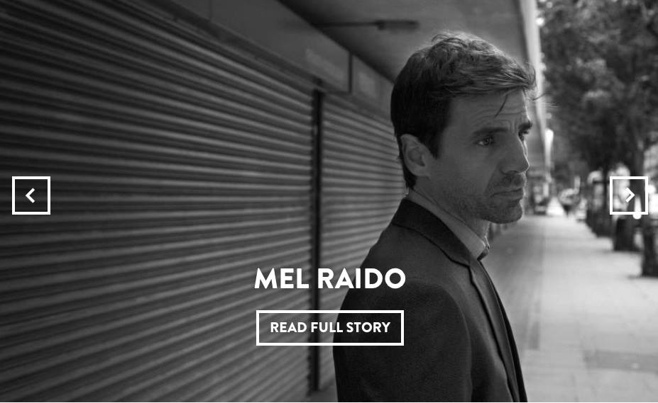 Actor Mel Raido – Nuit Magazine