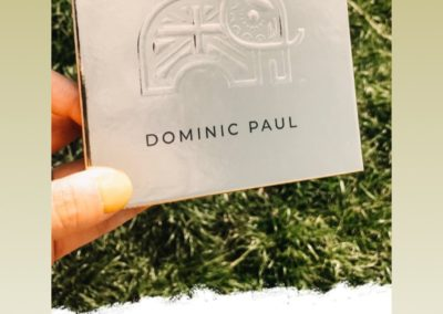 S-club Junior star Stacey Franks loves her Dominic Paul cosmetics contour palette