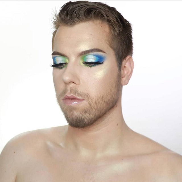 Influencer Lou Foord mua loves his Dominic Paul cosmetics contour palette