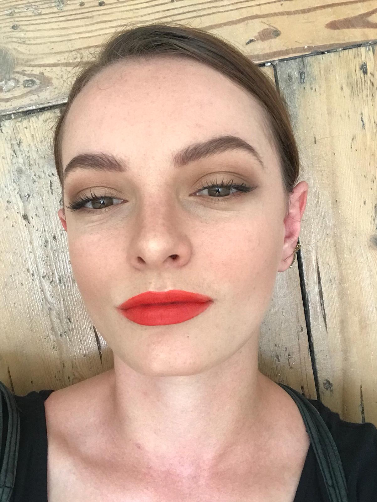 Actress Dakota Blue Richards loves our Dominic Paul cosmetics palette