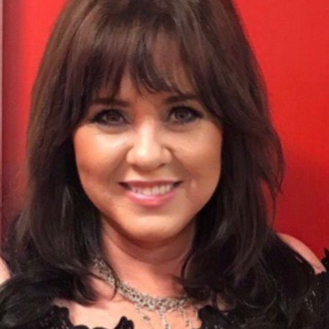 The gorgeous Coleen Nolan wearing our Dominic Paul Cosmetics contour palette