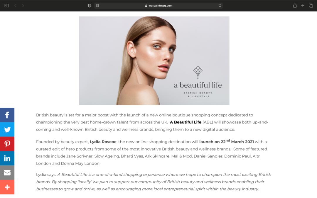 A Beautiful Life – Beauty & Lifestyle
